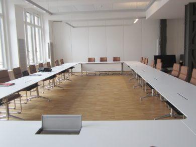 Berlin Barmer GEK – Neubau verschiedener Konferenzräume (2014 – 2017)