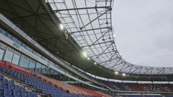 Hannover HDI-Arena – Akustische Simulation für die neue Beschallung des Niedersachsenstadions (2013 – 2014)