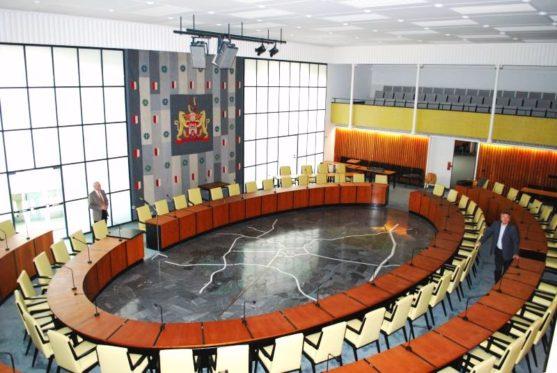Rathaus Hannover – Erneuerung der Beschallungsanlage im großen Sitzungssaal (2008 – 2009)
