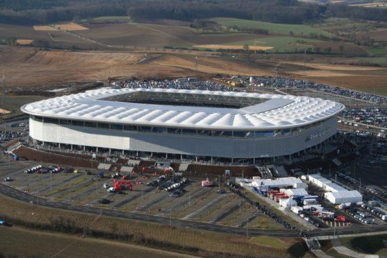 Hoffenhein – Stadion TSG 1899 – Rhein Neckar Arena Sinsheim (2008 – 2012)