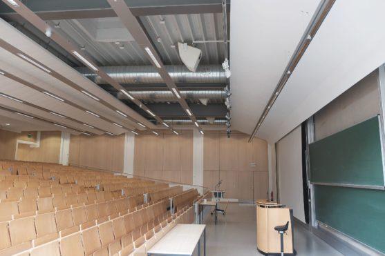 Braunschweig Technische Universität – Modernisierung und Anbindung eines Hörsaals (2011-2012)
