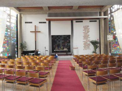 Hannover Kirchensaal Adventgemeinde (2015)