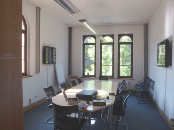 Hannover Leibniz Uni Raum 114 Marstallgebäude (2013)