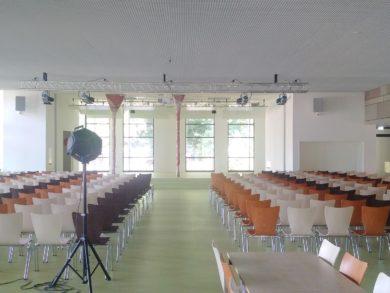 Hannover Neubau einer Mensa im Schulzentrum Misburg (2015 – 2018)