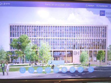 Hamburg Euler Hermes Neubau des Headquarters der Region DACH (2018 – 2020)